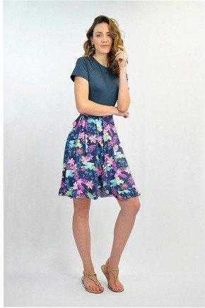 saia envelope com shorts azul marinho estampa floral em poliamida uv60 laine lekazis sp0103 5
