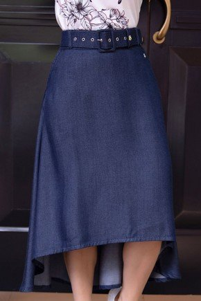 saia jeans mullet evase com cinto via tolentino vt10110 1