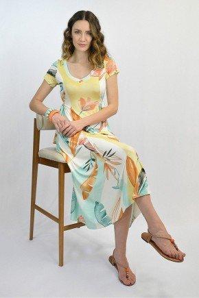 vestido longuete tropical com amarracao em viscolycra helena lekazis ds0448 1