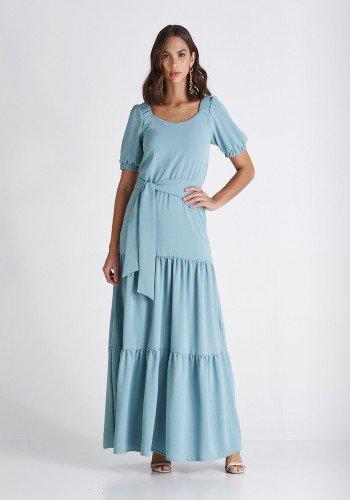 vestido longo azul com babados georgia cloa cl2213az 1