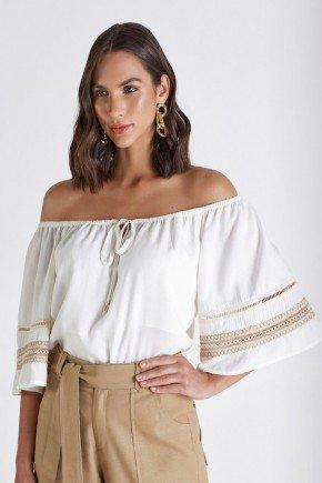 blusa ciganinha off white com entremeios catharina cloa cl2218 1