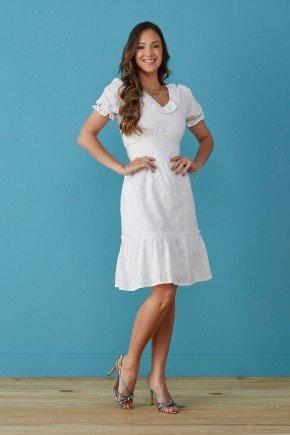vestido branco em laise de algodao perola tata martello tm7240br 1