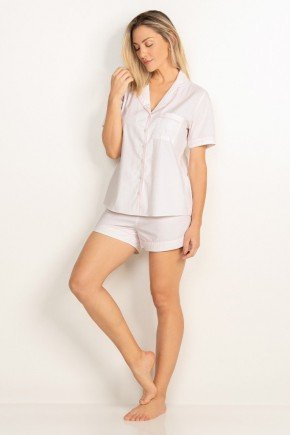 pijama conjunto branco com estampa gravataria lorrana principessa 1210001136 1