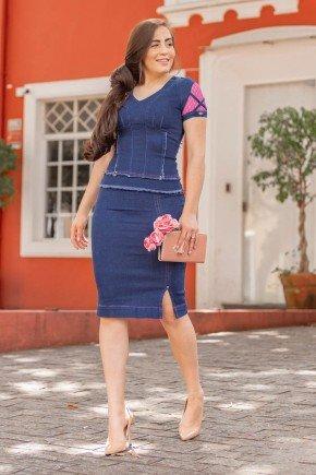 conjunto jeans e rosa com efeito desfiado cecilia raje jeans rj18820 1
