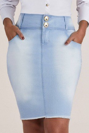 saia jeans azul claro em cotton titanium jeans ttn24816 2