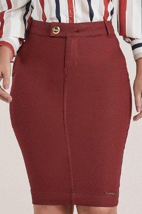 saia lapis vermelha resinada titanium jeans ttn24841 1
