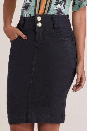 saia jeans preta secretaria titanium jeans ttn24857 10