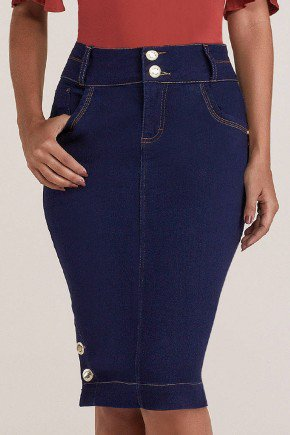 saia jeans midi com botoes na barra titanium jeans ttn24871 2