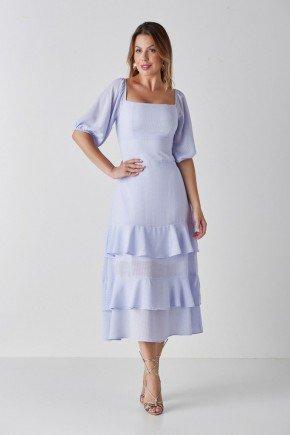 vestido lilas maxi midi com babados monica cloa cl2214 1