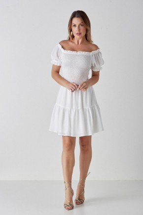 vestido off white ciganinha e babados leslie cloa cl2222off 1