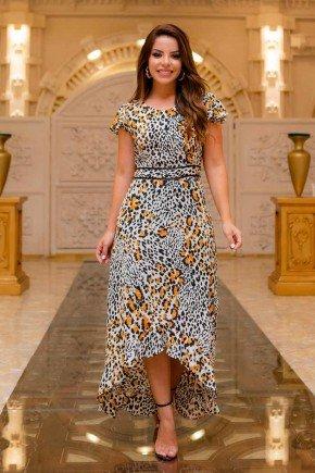 vestido longo animal print raje jeans rj18210b 1