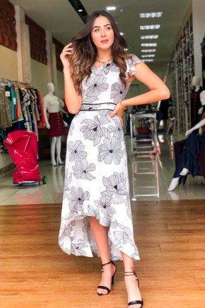 vestido maxi midi floral p b raje jeans rj18210c 1