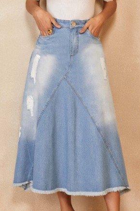 saia jeans evase midi barra desfiada titanium jeans ttn25246 1