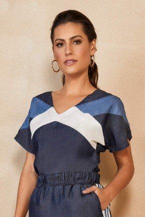 blusa em liocel com recortes titanium jeans ttn25273 1