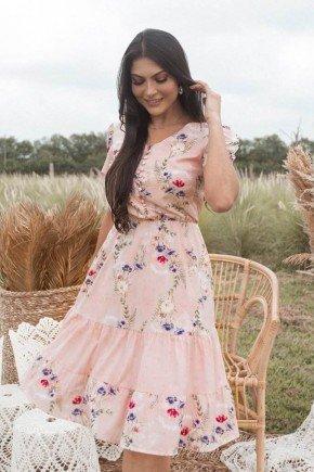 vestido rosa floral com babados elisiane jany pim jpv50894 1