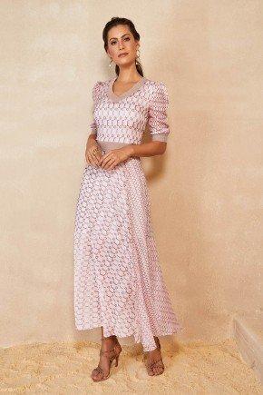 vestido longo rose estampado titanium jeans ttn25438 6