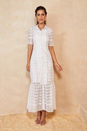 vestido longo branco em laise titanium jeans ttn25215 1