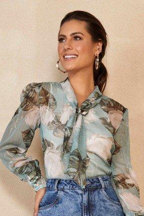 camisa estampa floral com transparencia gola laco titanium jeans ttn25247 2