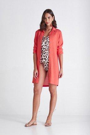 camisa feminina mangas longas laranja helo cloa