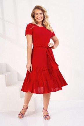 vestido vermelho kate fascinius