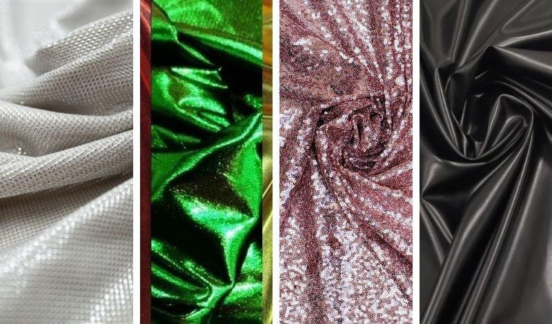 tecidos metalizados