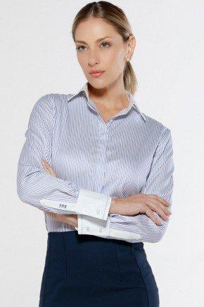 camisa listrada personalizada mayumi look