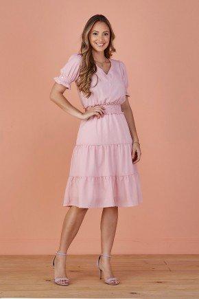 vestido evase rosa paola tata martello
