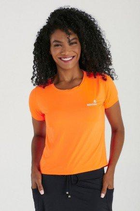 cropped fitness laranja neon protecao uv50 epulari 2