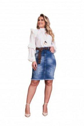 saia soraya jeans barra desfiada fascinius