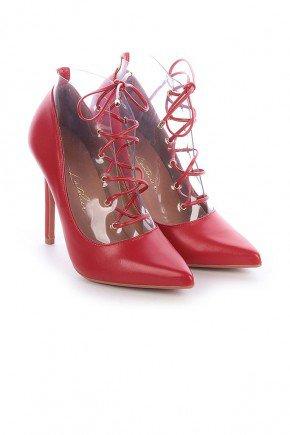 bota dyn vermelha com vinil e amarracao l atelier lt1183ve 2