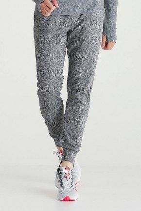calca jogger masculina mescla cinza com cordao holyfit hf0404 4