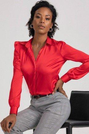 camisa vermelha com mangas bufantes iracema1