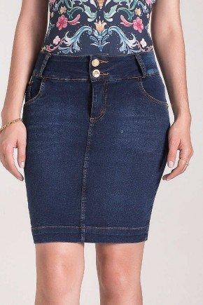 saia tradicional jeans com leves marcacoes laura rosa baixo