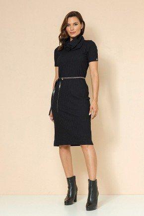 vestido preto dayna frente