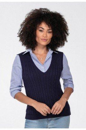 colete trico marinho hayden