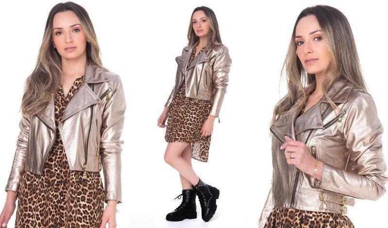 blog vestido com jaqueta de couro easy resize com