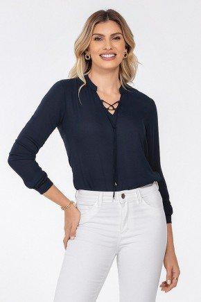 blusa feminina marinho kauane