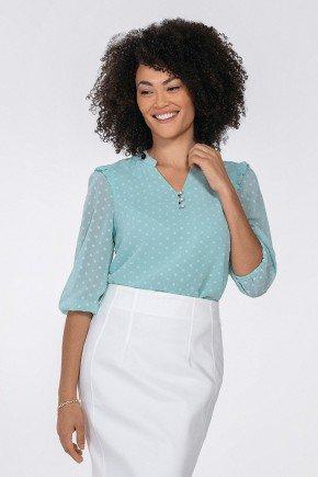 blusa feminina com babados kesia