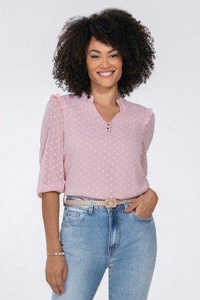 blusa rosa feminina katherine