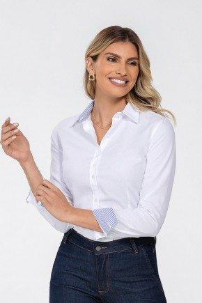 camisa feminina branca manga longa jamile principessa cima