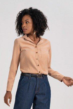 camisa feminina caramelo manga longa heidi principessa cima