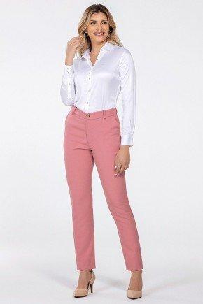 calca feminina de alfaiataria rosa kassia inteira
