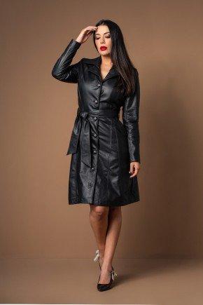 casaco sobre tudo com cinto couro legitimo pele mania