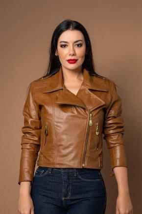 jaqueta feminina couro legitimo pele mania