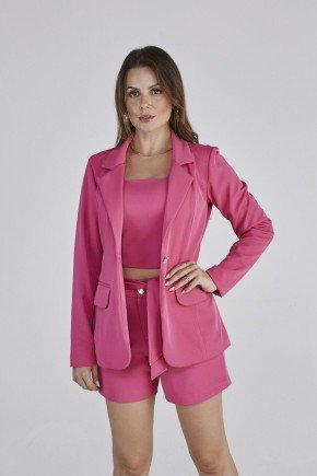 blazer pink donatella cloa