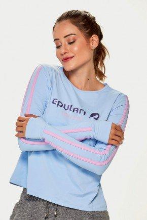 blusa manga longa azul bebe poliamida uv50 epulari lovers ep116az 5