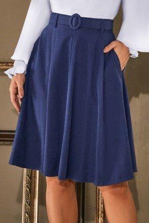 saia gode azul escuro cinto encapado via tolentino