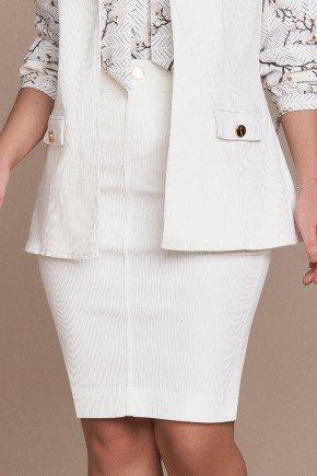 saia alfaiataria sarja off white titanium jeans