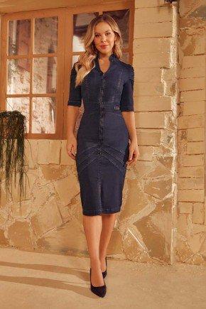 vestido tubinho jeans recortes diagonais via tolentino vt40058 1