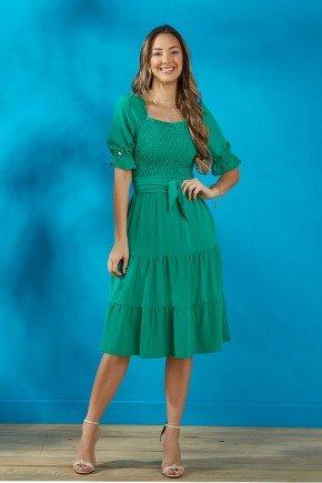 vestido verde folha saia tres marias tata martello